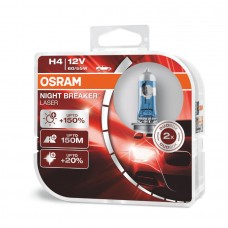 КРУШКИ OSRAM NIGHT BREAKER LASER H4 NEXT GENERATION - комплект 2 броя
