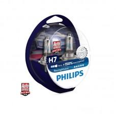 КРУШКИ Philips RacingVision H7 +150% комплект
